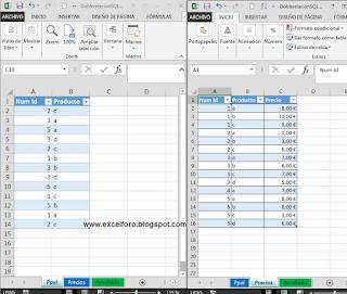 VBA: Una macro con SQL para evitar dobles búsquedas verticales.