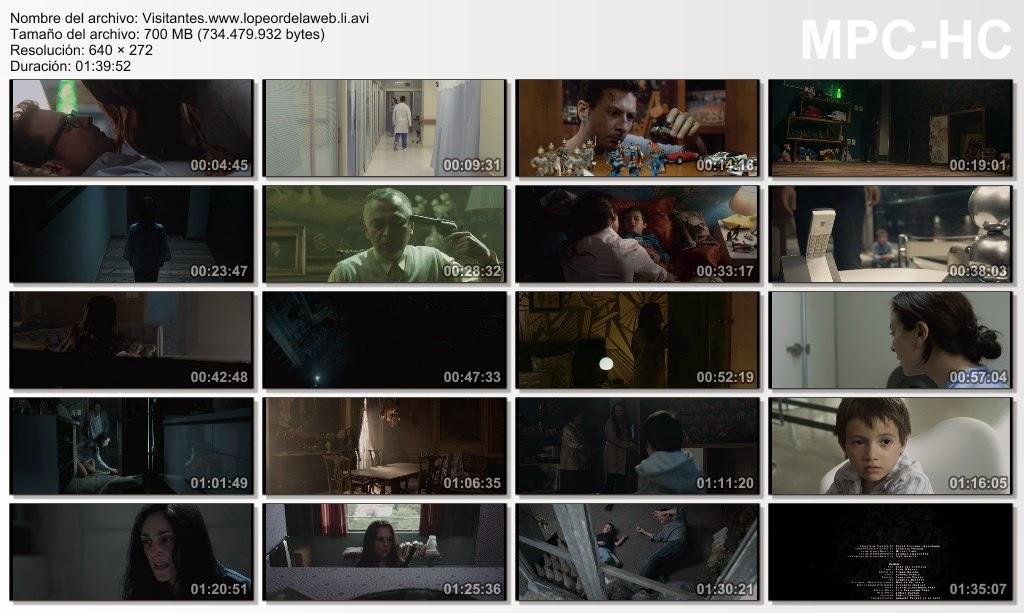 Visitantes (2014) DVDRip Latino