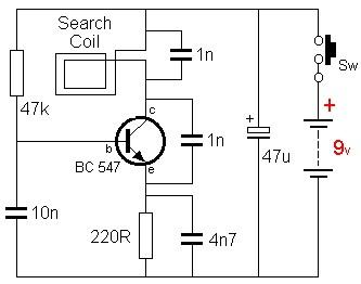Schema electronique gratuit montage schema d tecteur de m taux - Schema electronique detecteur de mouvement ...