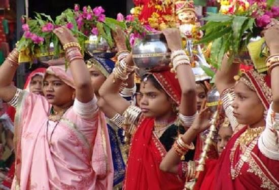 Kajili Teej Festival in Bundi