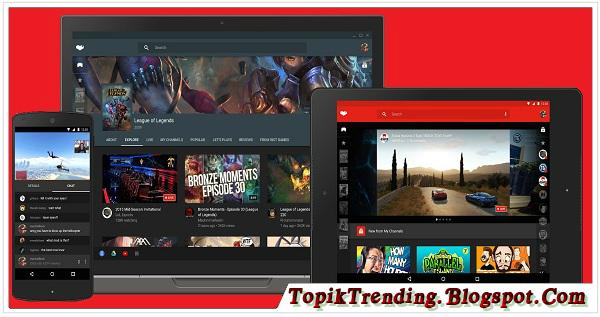 Youtube Gaming Telah Diluncurkan