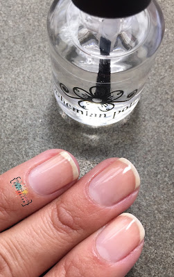 Bohemian Polish Flash Dry topcoat