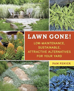 http://www.amazon.com/Lawn-Gone-Low-Maintenance-Sustainable-Alternatives/dp/1607743140