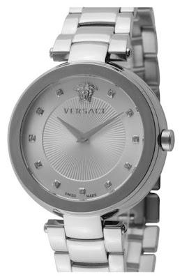 Reloj con diamantes de Versace