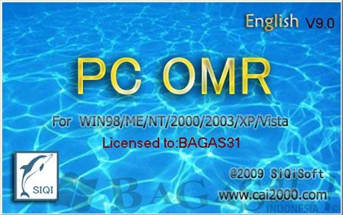 Aplikasi Pembaca LJK | PC OMR 9.0 Full Keygen 2