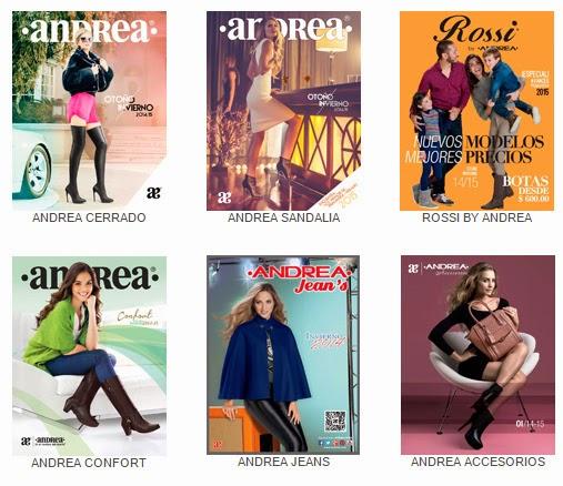Catalogos zapatos Andrea otoño invierno 2014 2015