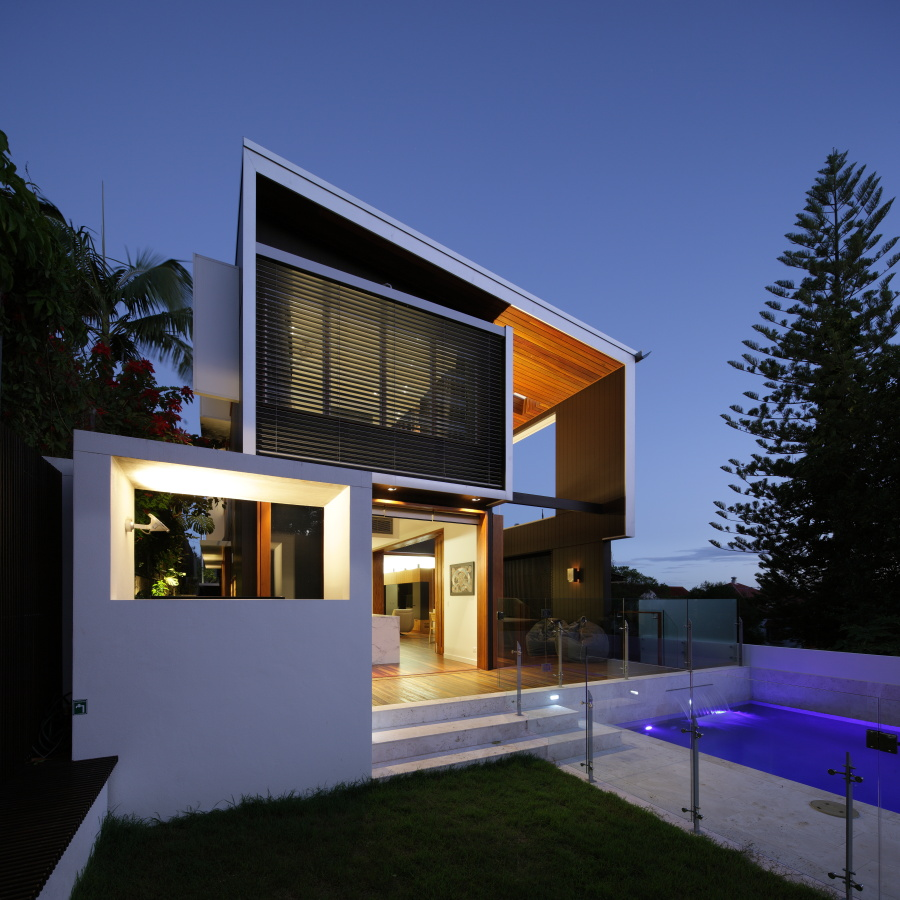 Browne street house by shaun lockyer architects for Amazing house design architecture