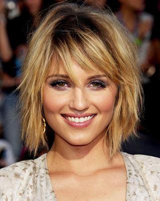 Dianna Agron Medium Hairstyles