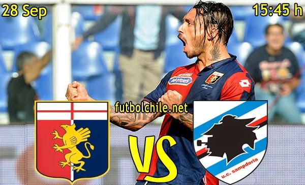 Genoa vs Sampdoria  - Serie A - 15:45 h - 28/09/2014