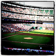 Myron treated us to a great July Fourth game of Texas Rangers baseball at .