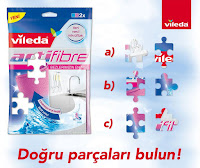 Vileda Türkiye'den Facebook Puzzle Yarışması