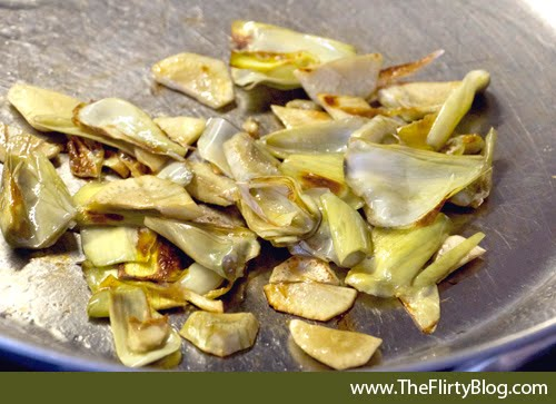 ... The Flirty Blog): A fast and easy, DIY, Baby Artichoke Pasta recipe