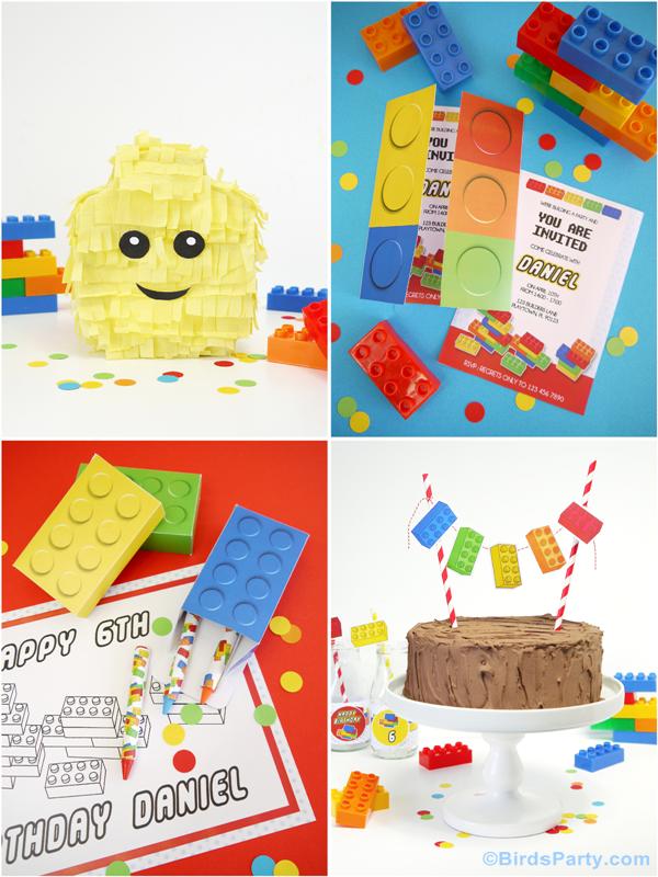 lego themed birthday party