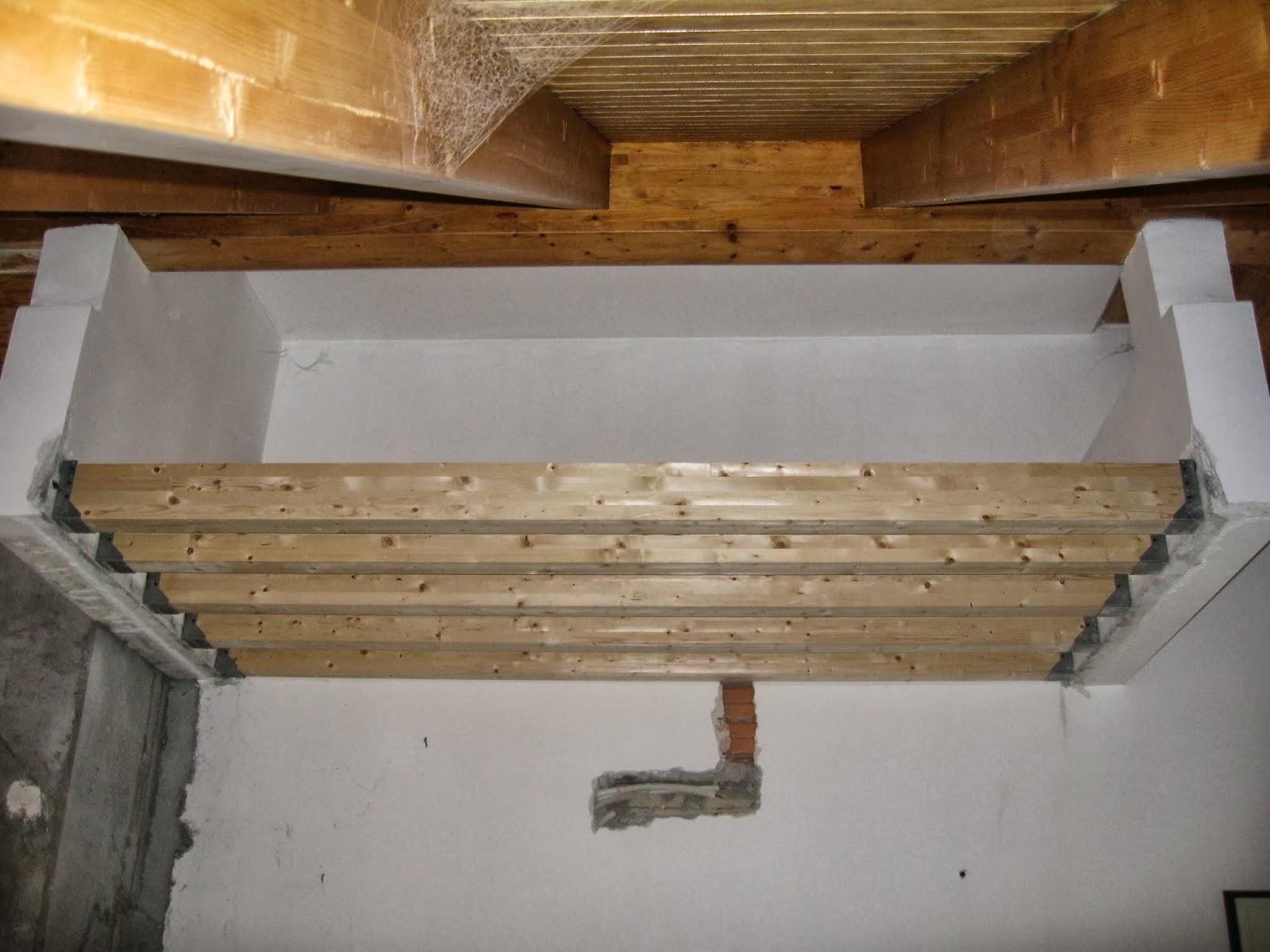 Armiento2 realizzazione di soppalco portante for Soppalco in legno lamellare