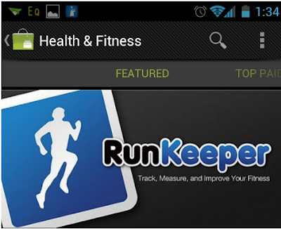 RunKeeper android app