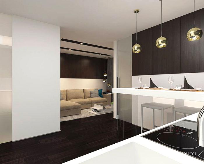 مطبخة الشقة