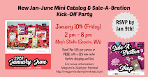 New Mini Catalog & Sale-A-Bration Kick Off Party