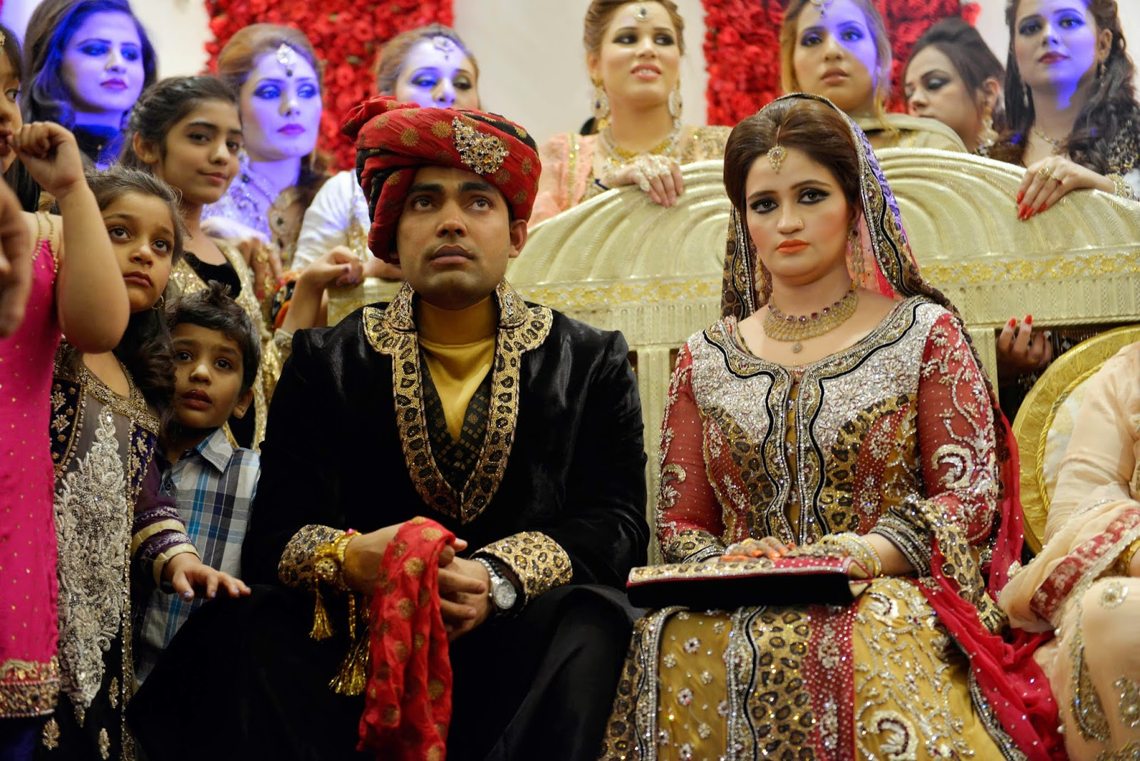 Abdul Qadir, Cricketer, Kamran Akmal, Noor Amna, Pakistan, Sports, Umer Akmal, Umer Akmal Wife, Umer Weeding,
