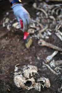 Exhumación en Teba, Málaga.