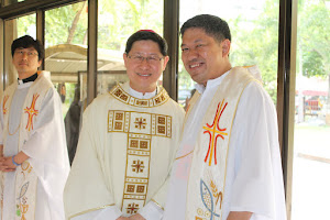 together with Manila Archbp Luis Antonio Cardinal Tagle, DD