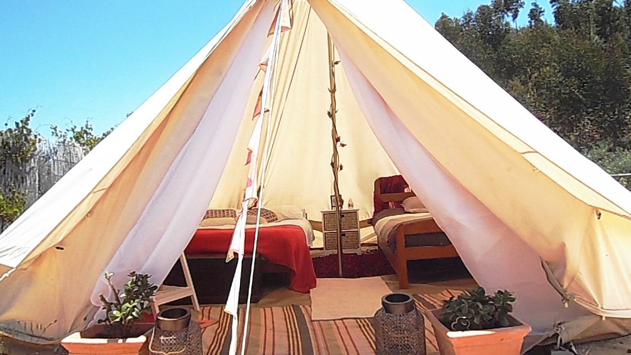 Tipi Algarve & Tipi Algarve: Group Double Safari Tents