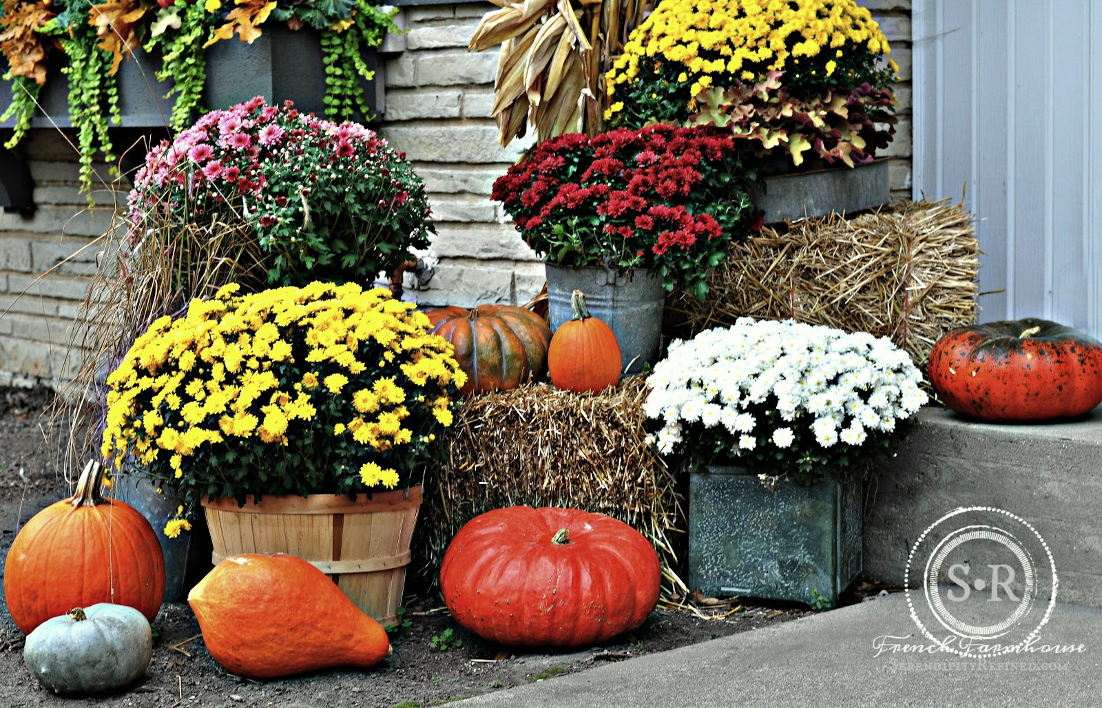 100 Fall Outdoor Decor Fall Outdoor Decorating Ideas For