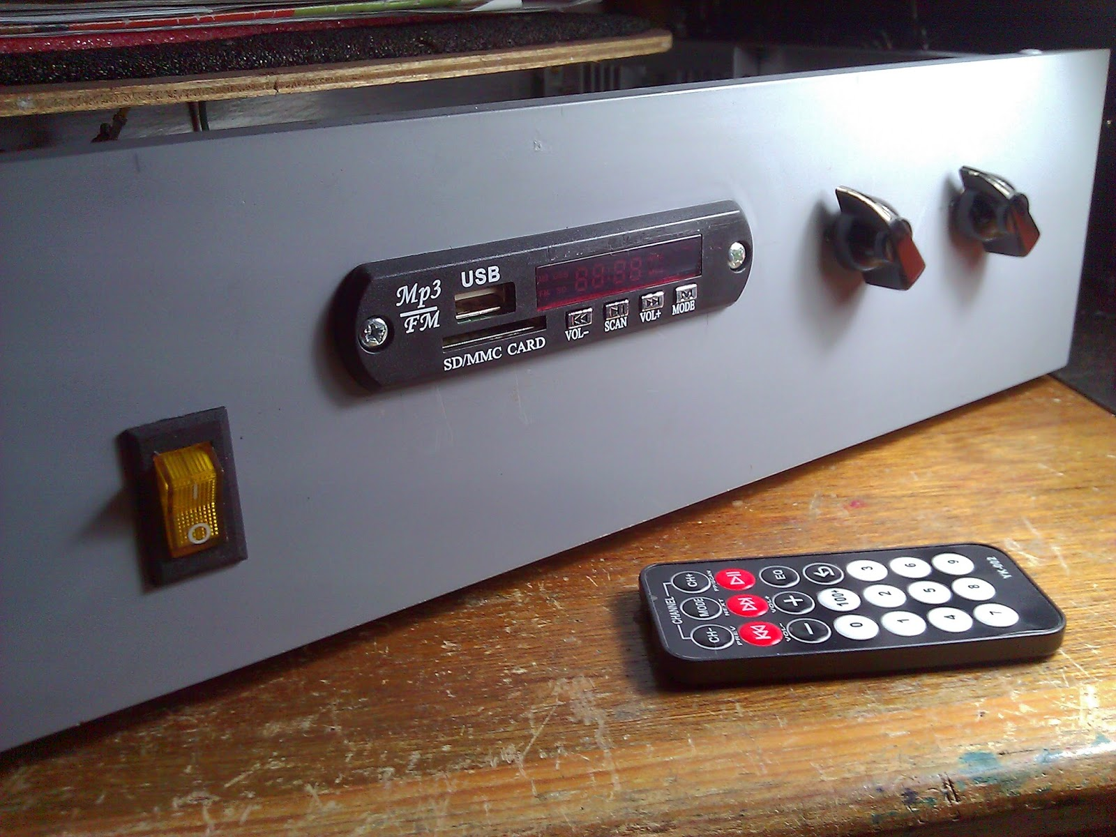remote control for old amplifier