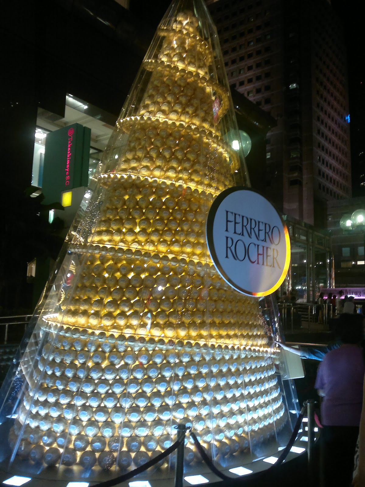 Ferrero Rocher christmas tree - Orchard