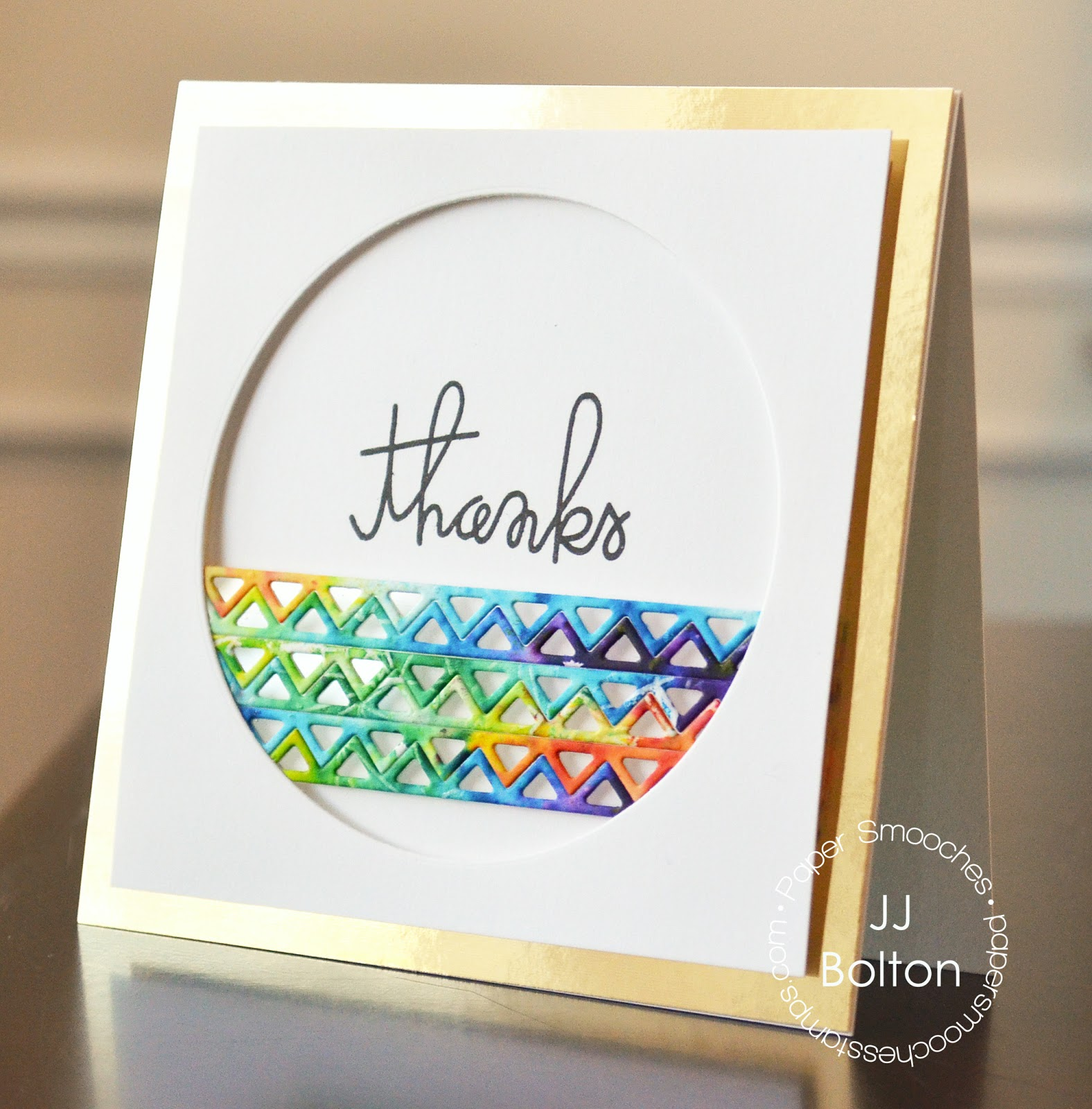 Jj Bolton Handmade Cards Bright Cards With Paper Smooches
