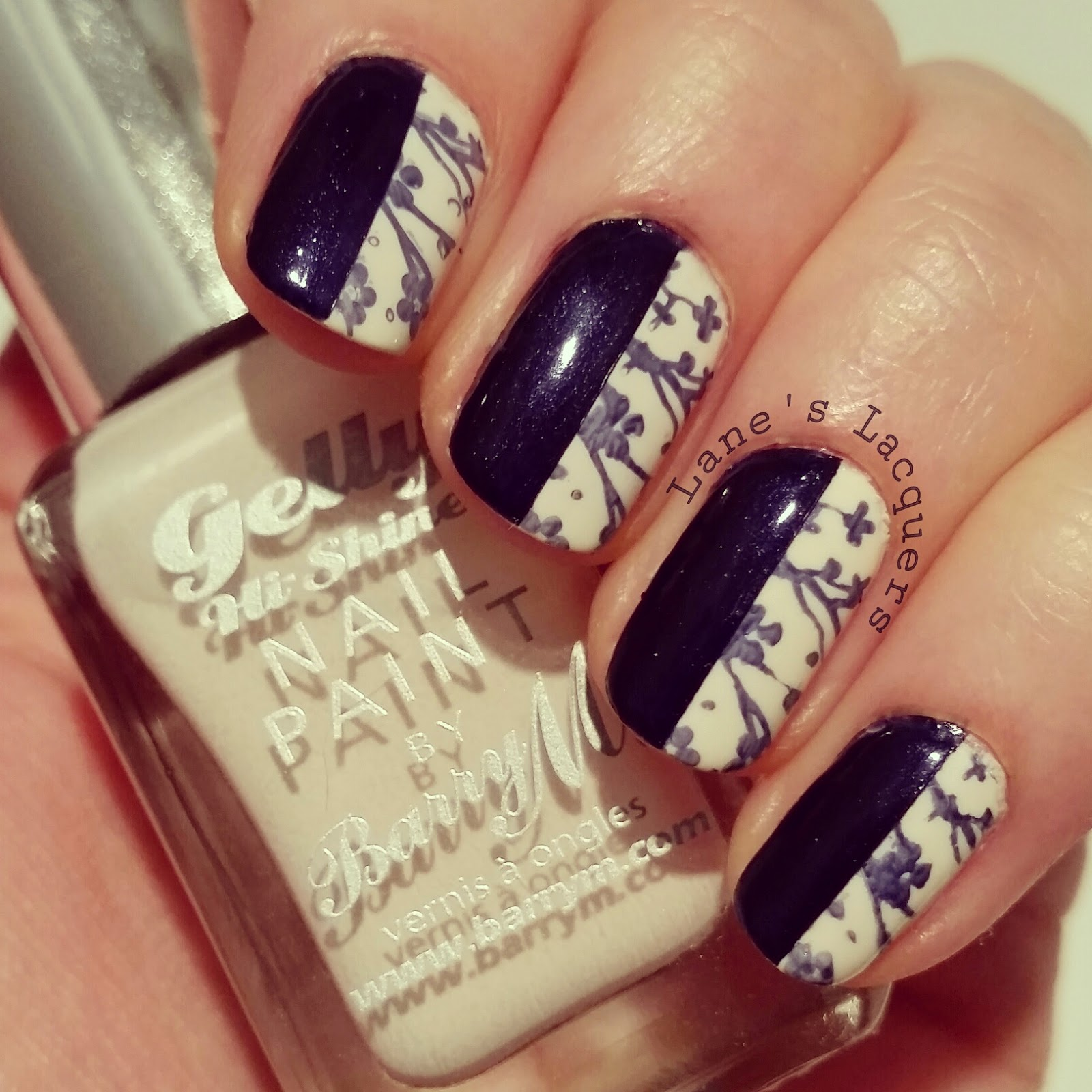 barry-m-coconut-moyou-london-navy-stamping-half-and-half-nail-art (2)