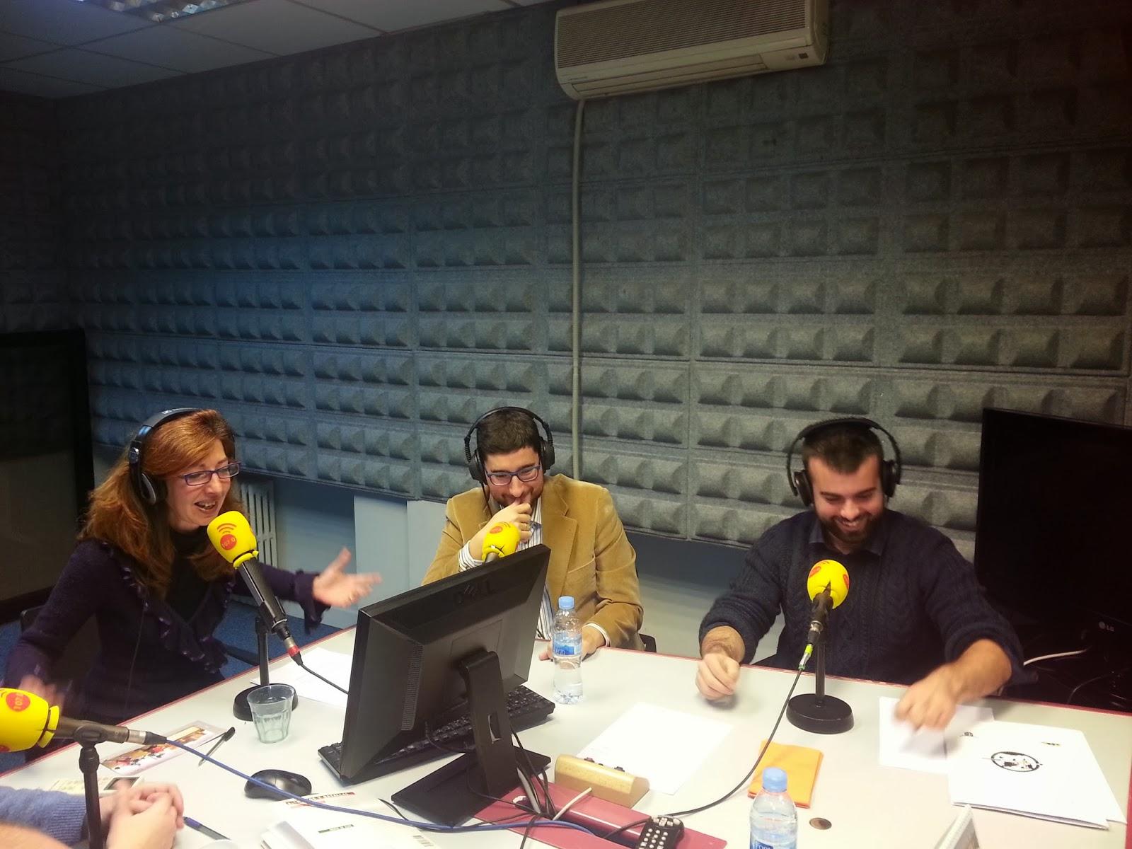 La Liga de Combate Medieval en la radio 20140104_114826