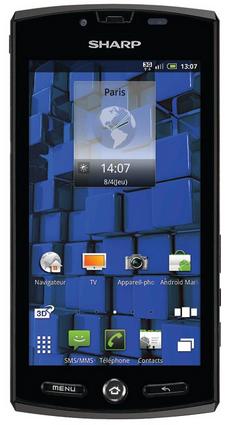 Sharp Aquos SH80F Android