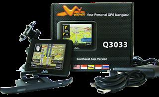 GPS Navigator WayWay Q303