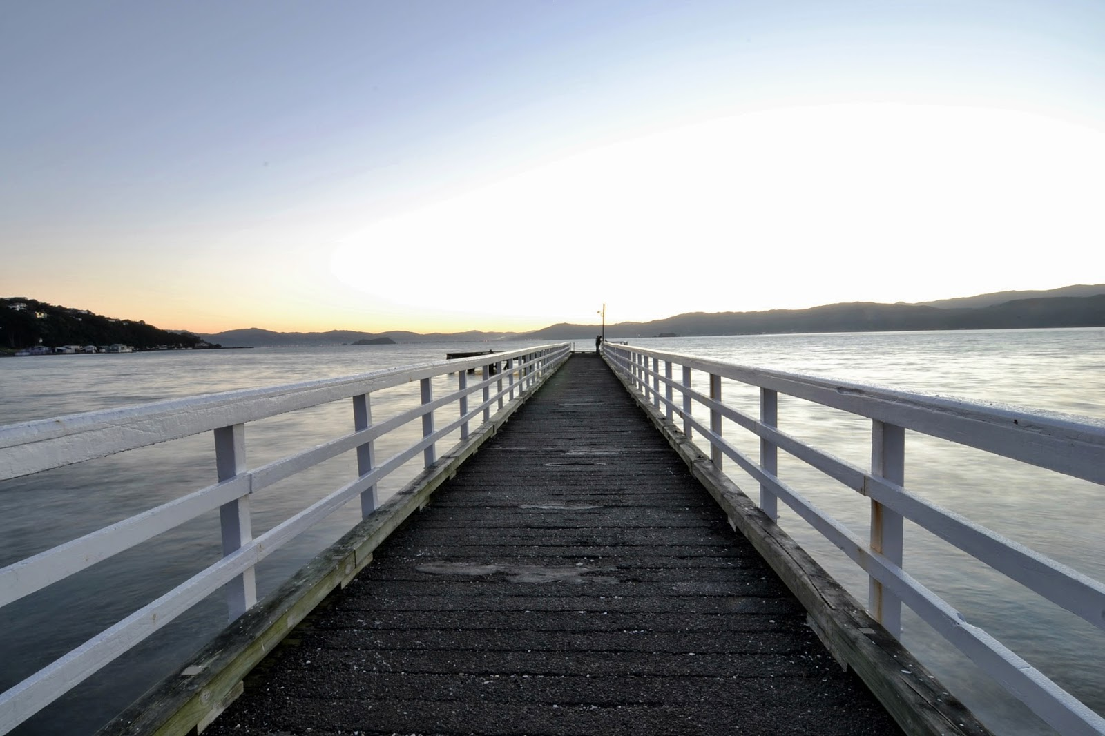 Seatoun Pier at dawn