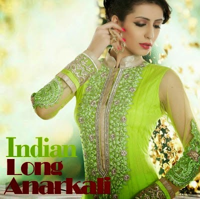 Indian Long Anarkali Dresses
