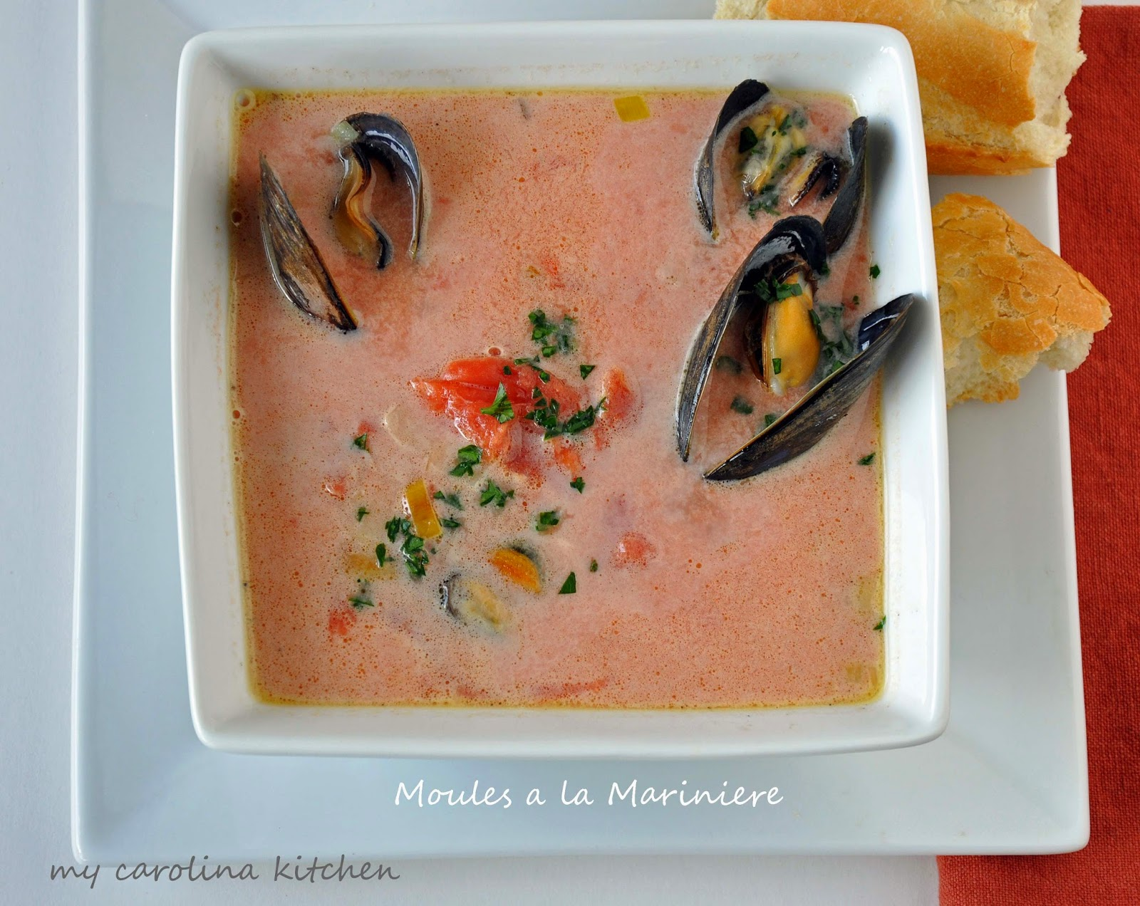 Mussels With Tomatoes, Wine, And Anise Recipe — Dishmaps