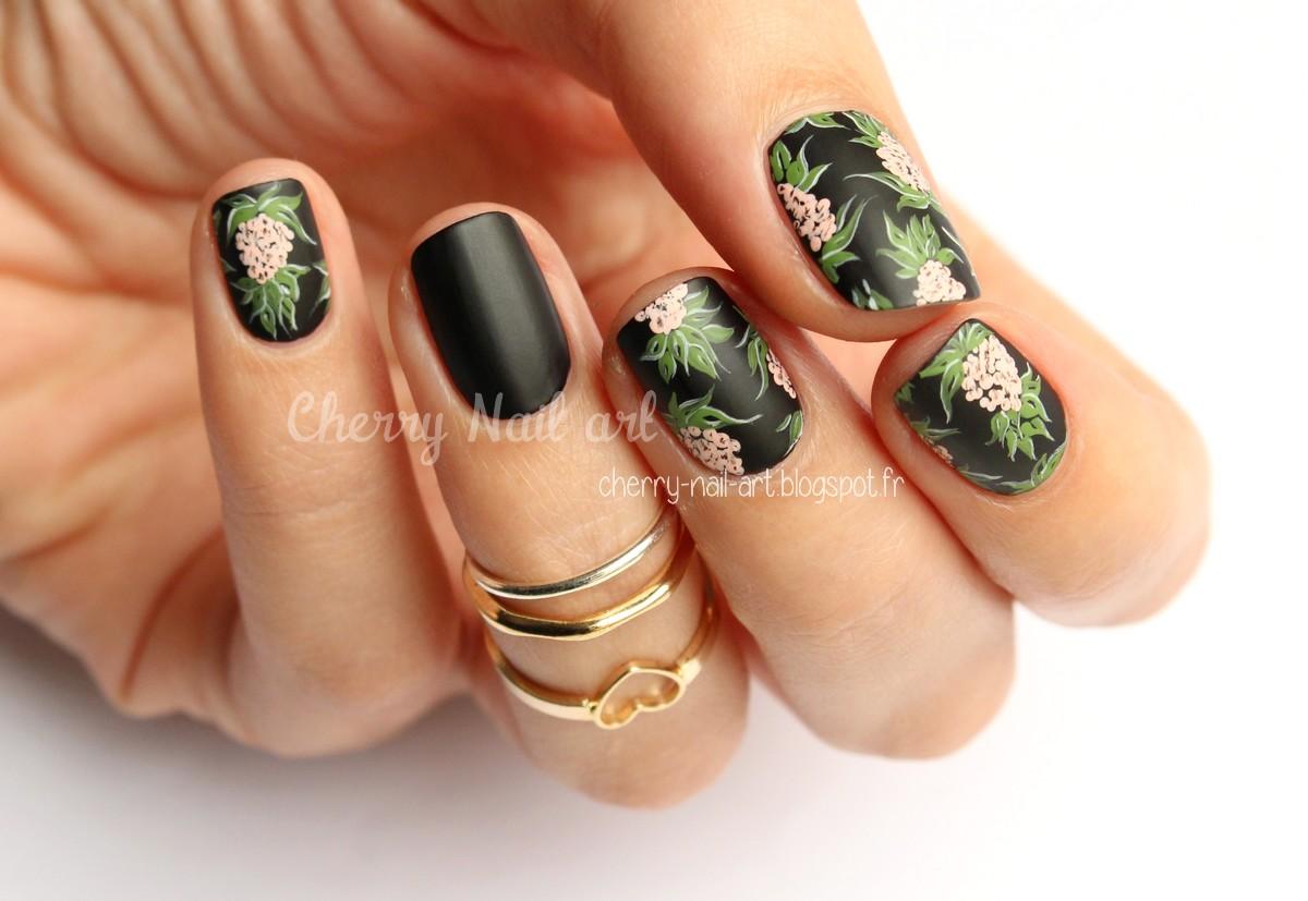 nail art ananas stylisé mode robe h&m