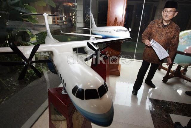 3 Tahap Proyek Pembuatan Pesawat R80 Rancangan BJ Habibie