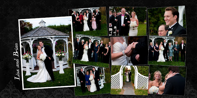 lisa and brian chose so many images i wanted to use as many as possible without over crowding the album i thought this one page with multiple images taken - Multiple Photos In One Frame