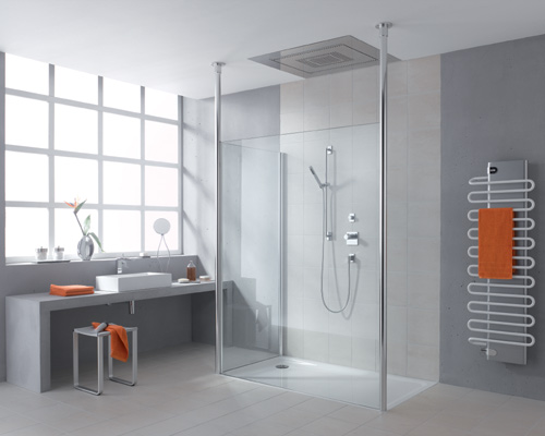 Modern Walk In ShowerModern Walk In Shower Ideas With Dark Gray Floor Tiles Fantastic  . Modern Walk In Bathrooms. Home Design Ideas