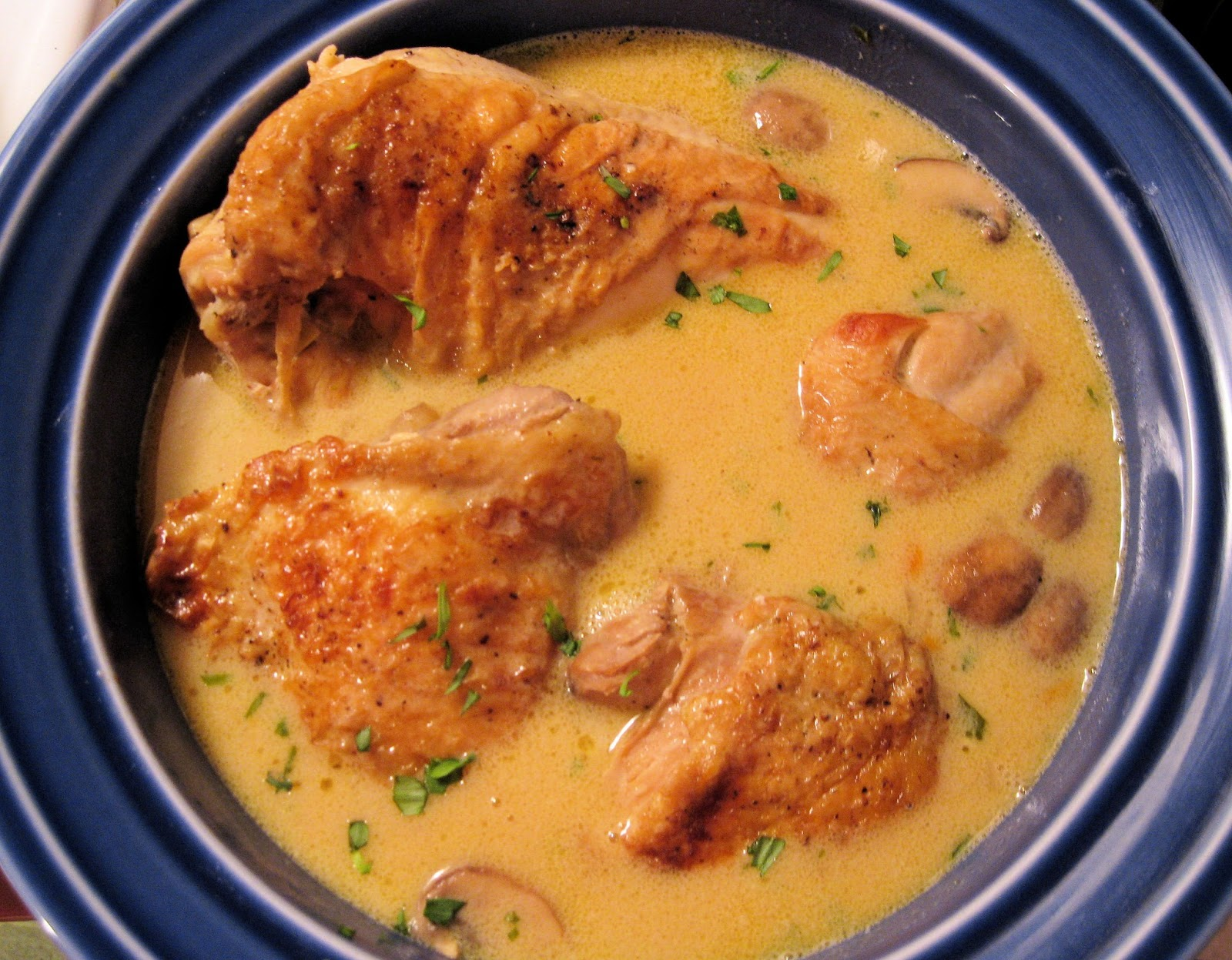 ... Every Day!: Chicken Fricassee (Fricassée de Poulet à L'Ancienne