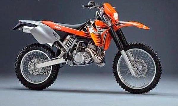 KTM 200 EXC used bikes