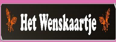 Het Wenskaartje