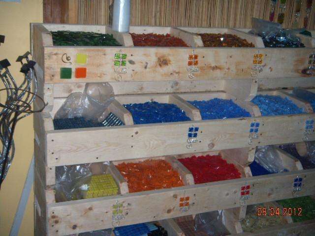 Materiales para mosaiquismo y revestimientos abril 2012 for Revestimiento venecitas para banos