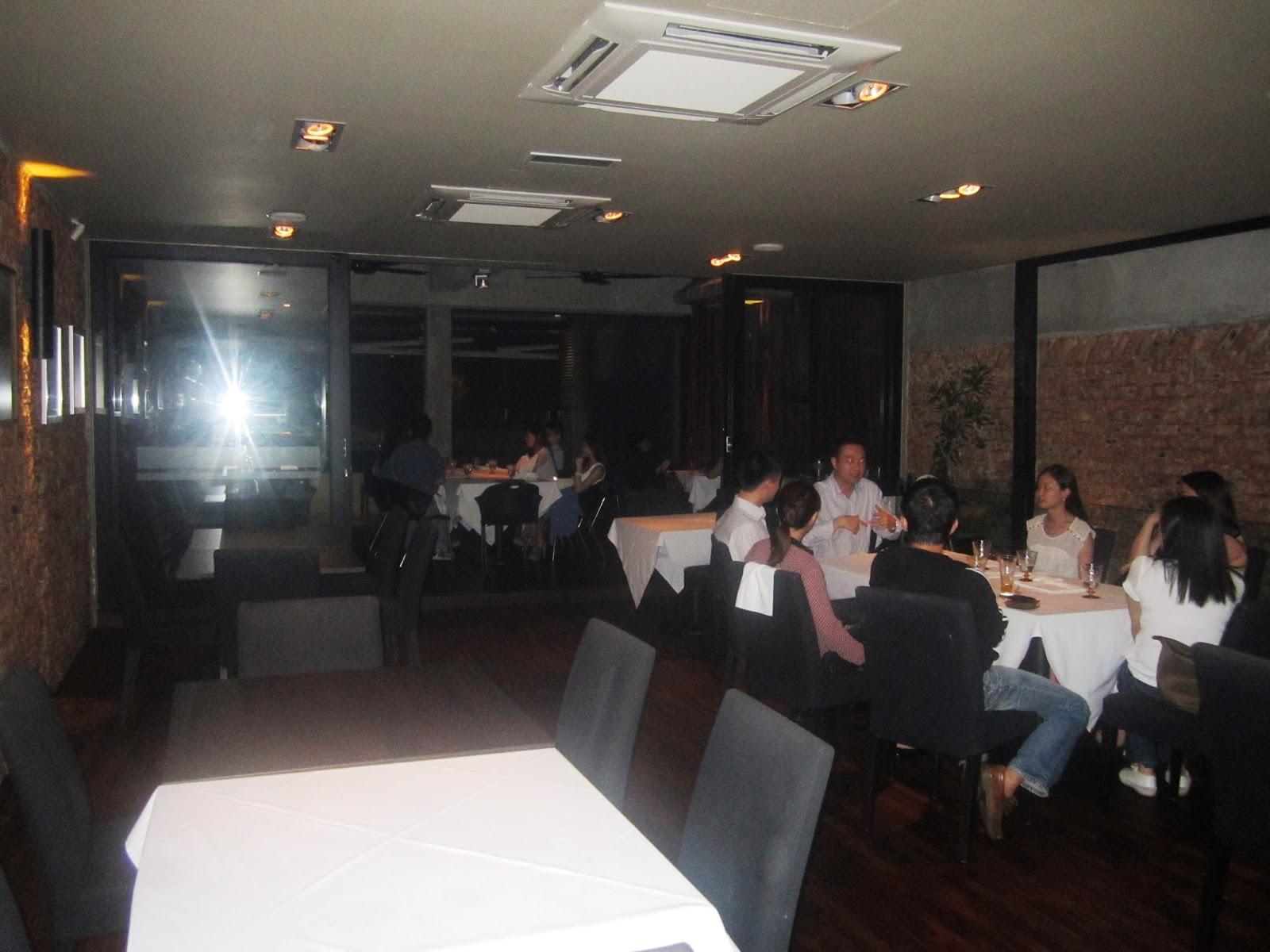 Talkwok leonardo s dining room and loft bangsar for Leonardo s dining room