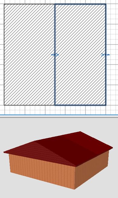 Как сделать крышу в 3d sweet home 3d 457