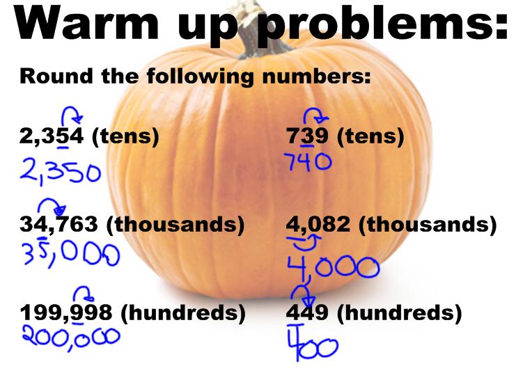 Homework help rounding numbers