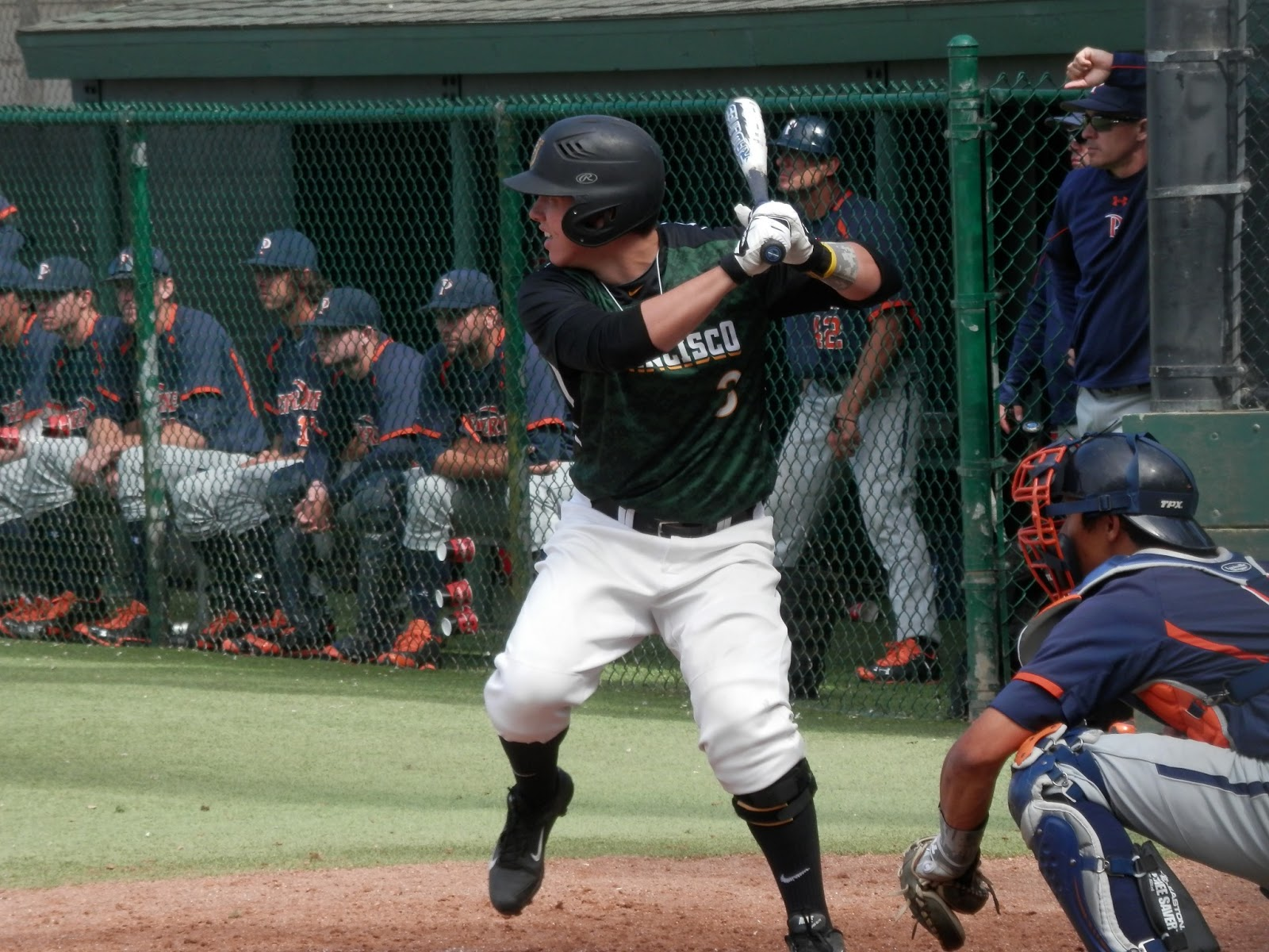Bradley Zimmer Indians prospect swing
