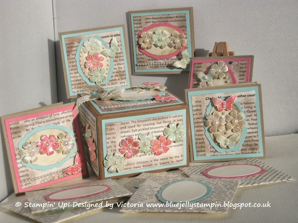 Stampin' Up! Bloomin' Marvelous Box and Cards Tutorial