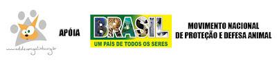 Ong Adote um Gatinho apoia Movimento Nacional de Proteção e Defesa Animal; Brasil, um país de todos os seres